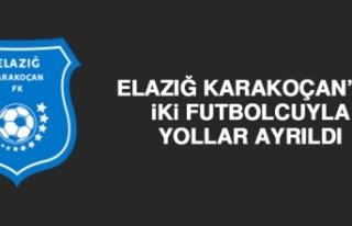 Elazığ Karakoçan'da İki Futbolcuyla Yollar Ayrıldı