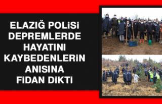 Elazığ Polisi, Depremlerde Hayatını Kaybedenlerin...