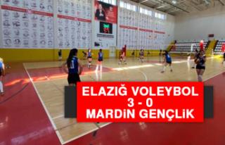 Elazığ Voleybol 3 - 0 Mardin Gençlik