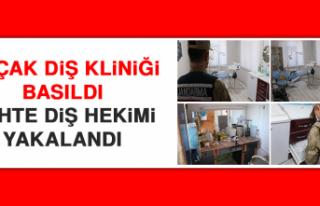 Elazığ'da Kaçak Diş Kliniği Basıldı, Sahte...