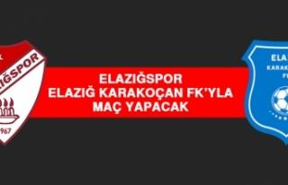 Elazığspor, Elazığ Karakoçan FK'yla Maç Yapacak