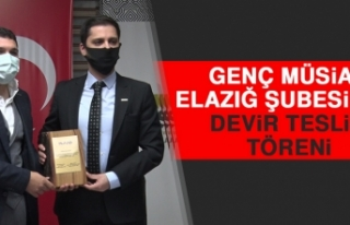 Genç MÜSİAD Elazığ Şubesi'nde Devir Teslim...