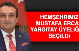 Hemşehrimiz Mustafa Ercan, Yargıtay Üyeliğine...