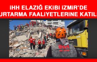 İHH Elazığ Ekibi İzmir'de Kurtarma Faaliyetlerine...