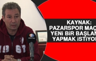 Kaynak: Pazarspor Maçıyla Yeni Bir Başlangıç...