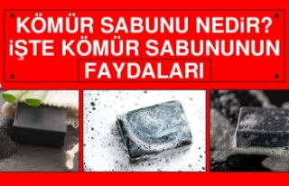 Kömür Sabunu Nedir? İşte Kömür Sabununun Faydaları