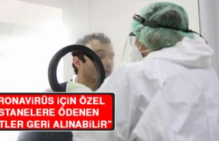 """Başkan Şahin: """"Koronavirüs İçin Özel Hastanelere..."""
