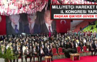 MHP 13'üncü İl Kongresi Yapıldı
