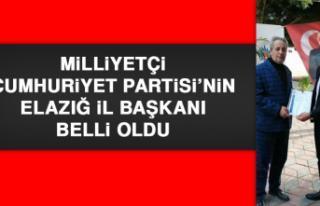 Milliyetçi Cumhuriyet Partisi'nin Elazığ İl...