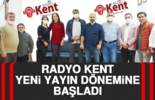 Radyo Kent Yeni Yayın Dönemine Başladı