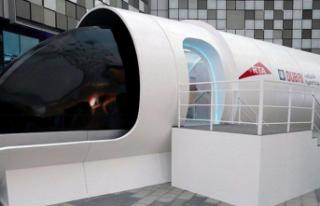 Saatte Bin Km Hıza Ulaşacak Hyperloop Treni, İnsanlı...