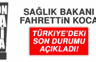 SAĞLIK BAKANI FAHRETTİN KOCA KORONAVİRÜSTE SON...