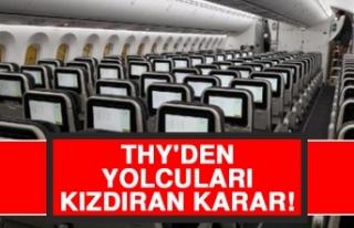 THY'den Yolcuları Kızdıran Karar!
