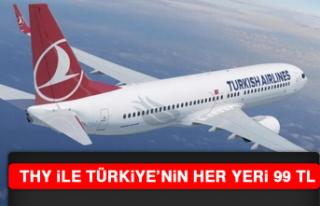 THY İle Türkiye'nin Her Yeri 99 TL