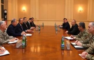 Türk heyetten İlham Aliyev'e tebrik ziyareti