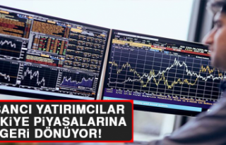 Yabancı Yatırımcılar Türkiye Piyasalarına Geri...
