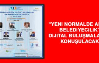 """""""Yeni Normalde Akıllı Belediyecilik"""" Dijital..."""