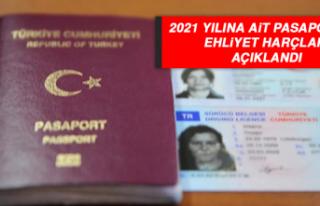 2021 Yılına Ait Pasaport ve Ehliyet Harçları Açıklandı