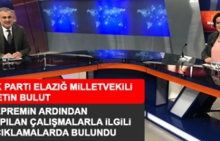 AK Parti Elazığ Milletvekili Metin Bulut Merak Edilen...
