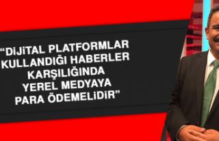 """Başkan Burhan: """"Dijital platformlar yerel medyaya..."""