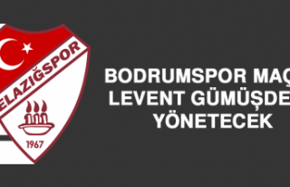 Bodrumspor Maçını Levent Gümüşdere Yönetecek