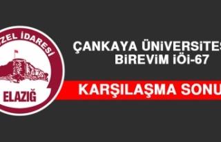 Çankaya Üniversitesi 78– 67 Birevim İÖİ