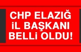 CHP Elazığ İl Başkanı Belli Oldu!
