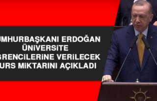 Cumhurbaşkanı Erdoğan Üniversite Öğrencilerine...