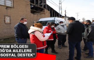 """Deprem Bölgesi Elazığ'da Ailelere """"Psikososyal..."""