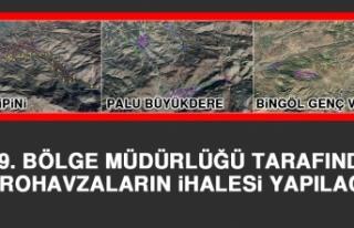 DSİ 9. Bölge Müdürlüğü Tarafından Mikrohavzalarının...