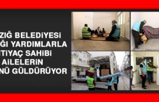Elazığ Belediyesi, İhtiyaç Sahiplerinin Yüzünü...