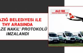 Elazığ Belediyesi İle THY Arasında 'Cenaze Nakil'...