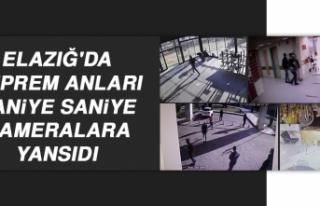 Elazığ'da Deprem Anları Saniye Saniye Kameralara...
