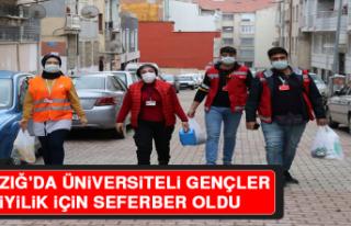 Elazığ'da Üniversiteli Gençler Sokağa Çıkma...