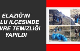 Elazığ'ın Palu İlçesinde Çevre Temizliği...
