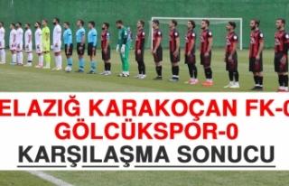 Elazığ Karakoçan FK 0-0 Gölcükspor