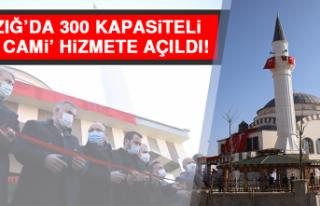 Elazığ'da 300 Kapasiteli 'TOKİ Cami' Hizmete...