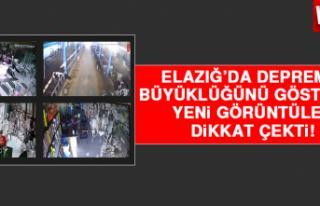 Elazığ'da Depremin Büyüklüğünü Gösteren...