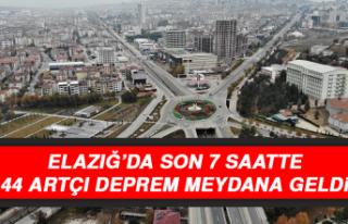 Elazığ'da Son 7 Saatte 44 Artçı Deprem Meydana...
