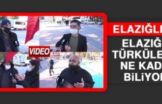 Elazığlılar Elazığ'ın Türkülerini Ne Kadar...