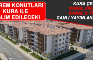 Gümüşkavak ve Aksaray TOKİ Konutlarının Kurası...