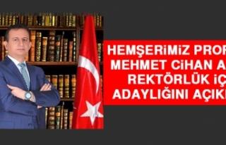 Hemşerimiz Prof. Dr. Aydın Bitlis Eren Üniversitesi...