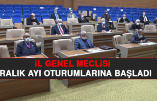 İl Genel Meclisi, Aralık Ayı Oturumlarına Başladı