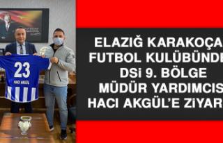 Karakoçan Futbol Kulübünden DSİ 9. Bölge Müdür...