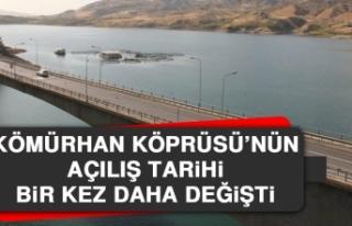 Kömürhan Köprüsü'nün Açılış Tarihi Bir...
