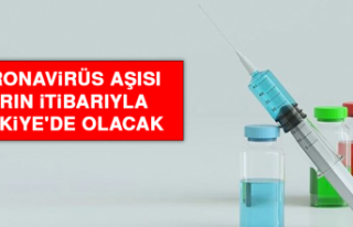 Koronavirüs Aşısı Yarın İtibarıyla Türkiye'de...