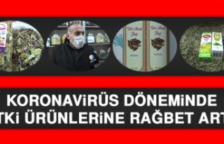 Koronavirüs Döneminde Bitki Ürünlerine Rağbet...