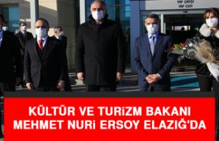 Kültür ve Turizm Bakanı Ersoy Elazığ'dan...