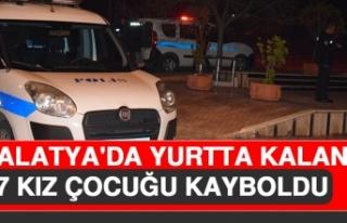 Malatya'da Yurtta Kalan 7 Kız Çocuğu Kayboldu
