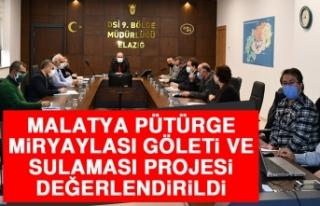 Malatya'da Proje Değerlendirme Toplantıları...